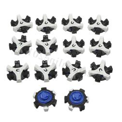 14 Pcs Replacement Golf Shoes Spikes Studs Cleats Fast Twist