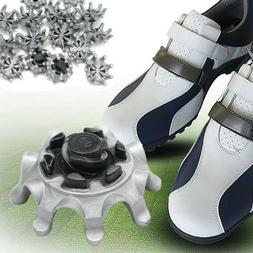 16PC Replacement Golf Shoes Spikes Studs Cleats Fast Twist F