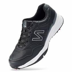 New Balance 1701 Men's Golf Shoes Size 9 4EE Extra Wide Blac