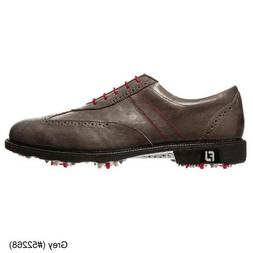 FootJoy 2014 Icon Wing Tip Golf Shoes Closeout 52268 Grey 9.