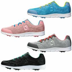 2016 CLOSEOUT FootJoy Enjoy Spikeless Golf Shoes Women
