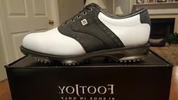 2016 Footjoy Dryjoys Tour ECL Mens Golf Shoes 53752 NEW Wh/B