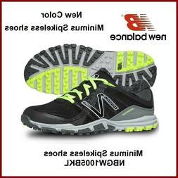 New Balance Women's Golf Shoes NBGW1005 Black Lime Spikeless