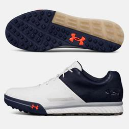 UNDER ARMOUR 2018 MEN'S TEMPO HYBRID 2 GOLF SHOES SIZE: 10 W