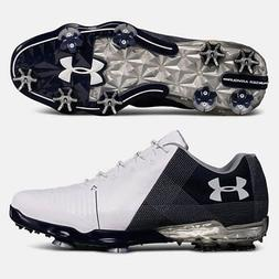 UNDER ARMOUR 2018 MEN'S SPIETH 2 GOLF SHOES SIZE: 11 WHITE/A