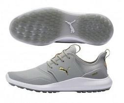 Puma Ignite NXT Pro Mens Golf Shoes Grey - Choose a Size
