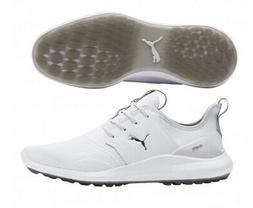 2019 Puma Ignite NXT Pro Mens Golf Shoes White/Grey - Choose