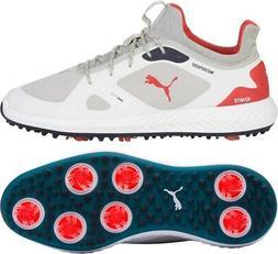 2019 Puma Ignite Pwradapt Golf Shoes Mens Grey Violet/Red -
