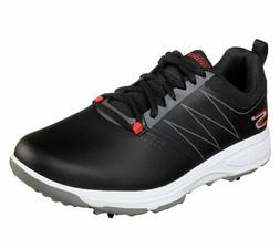 2019 Skechers Mens Go Golf Torque Golf Shoes Black/Red - Pic