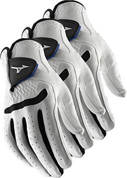 Mizuno 3 NEW Comp Lady Golf Gloves Size Small Regular Left H