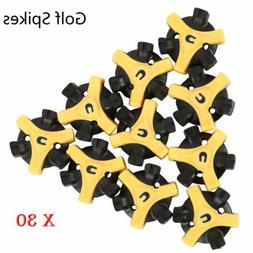 30PCs Golf Shoe Spikes Replace Champ Cleat Screw-in + Remova