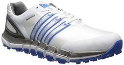 adidas Men's Pure 360 Gripmore S Golf Shoe, White/Silver Met