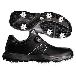 Adidas 360 Traxion BOA Golf Shoes Core Black/White/Dark Silv
