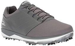 Skechers Men's Pro 4 Waterproof Golf Shoe, Charcoal Textile