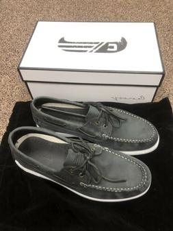 Canoos A-14 Mens Golf Boat Shoes Dark Gray Size 11 NEW
