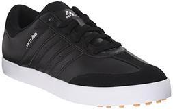 adidas Men's Adicross V Golf Shoe, Black/White, 11.5 M US