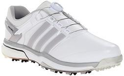 adidas Men's Adipower Boa Boost Golf Shoe, Running White/Dar