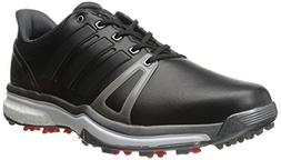 adidas Mens Adipower Boost 2 Golf Cleated, Core Black/Dark S