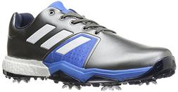 adidas Men's Adipower Boost 3 Golf Shoe, Dark Silver Metalli