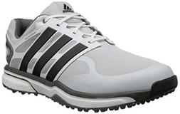 adidas Men's Adipower s Boost Golf Shoe, Clear Grey/Black/Bo