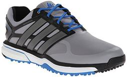 adidas Men's Adipower s Boost Golf Shoe, Light Onix/Dark Sil