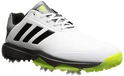 adidas Men's Adipower Bounce Golf Shoe, White/Black/Solar Sl