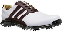 adidas Men's Adipure Classic Golf Shoe, White, 10.5 M US