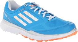 Adidas Women's Adizero Sport II Golf Shoe ,Solar Blue/White/