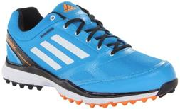 adidas Men's Adizero Sport II Golf Shoe,Solar Blue/White/Bla