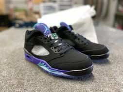 Air Jordan 5 V Low Retro Golf Shoes Size 11.5 Mens Black Gra