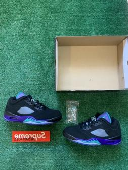 Nike Air Jordan 5 V Low G Black Grape Golf Shoes CU4523-001