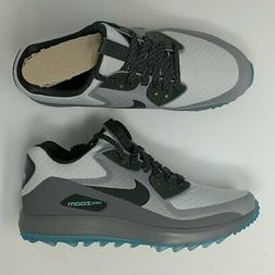 Nike Air Zoom 90 IT Golf Shoes Cleats Platinum Anthracite 84