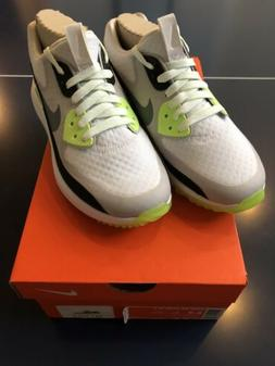 Nike Air Zoom 90 IT Golf Shoes White/Grey/Volt  844648-101 W