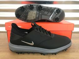 Nike Air Zoom Direct Golf Shoes Black Metallic Silver Wide S
