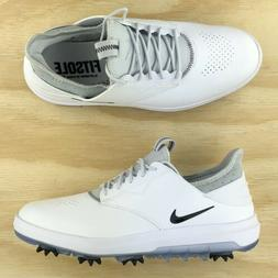 4b25e45f2a39 Editorial Pick Nike Air Zoom Direct Golf Shoes Cleats White Silver Black 92