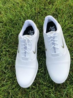 Nike Air Zoom Victory Pro Golf Shoes White/Metallic Pewter s