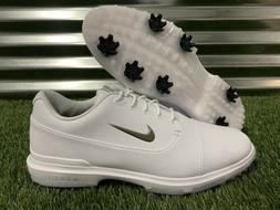 Nike Air Zoom Victory Pro Golf Shoes White Silver Black SZ