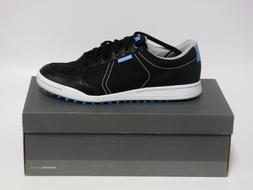 Ashworth Cardiff Men's G54227 Black/Black/Blue Golf Shoes -