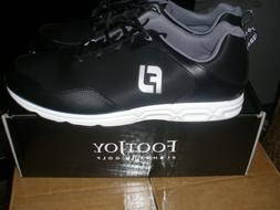 #1 Shoe In Golf Athletics Spikeless  Black Choose Size & Wid