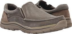 Skechers Men's Avillo Relaxed Fit Memory Foam Slip On Sneake