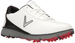 Callaway Men's Balboa TRX Golf Shoe White/Black 10 D US