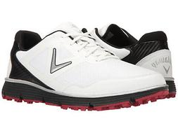 Callaway Men's Balboa Vent Golf Shoe, 11.5 Wide White