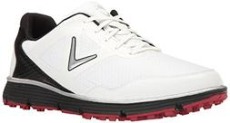 Callaway Men's Balboa Vent Golf Shoe White/Black 14 D US