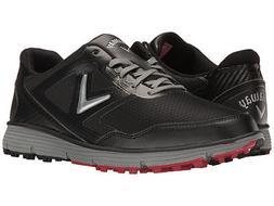 balboa vent spikeless golf shoes black grey