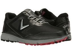 Callaway Balboa Vent Spikeless Golf Shoes Black/Grey