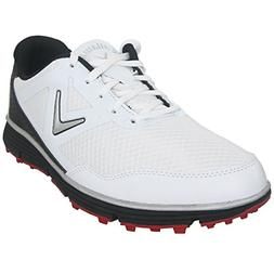 Callaway Balboa Vent Spikeless Golf Shoes White/Black 11 2E