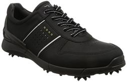 ECCO Men's Base One Golf Shoe, Black, 44 EU/10-10.5 M US