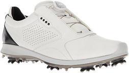 ECCO Men's Biom G2 BOA Gore-Tex Golf Shoe White/Black 44 M E