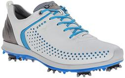 ECCO Women's Biom G2 Golf Shoe,White/Buffed Silver,41 EU/10-
