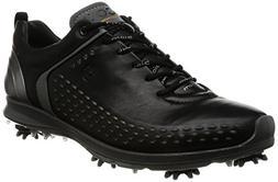 ECCO Men's Biom G2 Golf Shoe, Black/Transparent, 40 EU/6-6.5